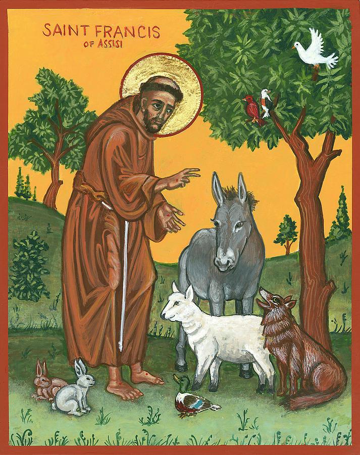 성 프란시스의 영성을 흠모합니다.